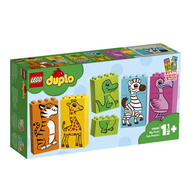 Lego Duplo My First 10885 Mi Primer Puzle Divertido