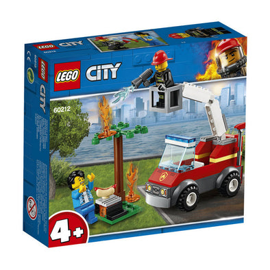 Lego City Fire Incendio En La Barbacoa