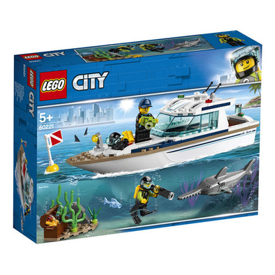 Lego City Great Vehicles 60221 Yate De Buceo