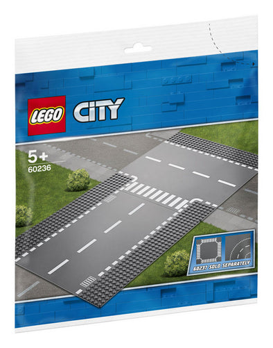 Lego City Supplementary 60236 Rectas E Interseccion En T