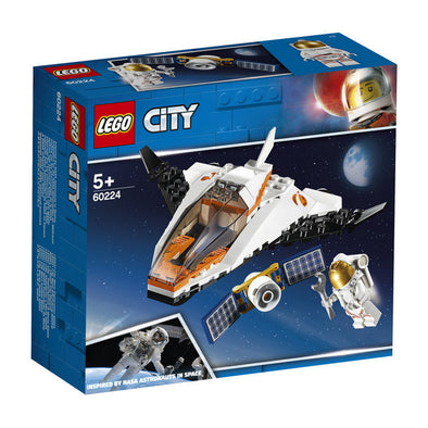 Lego City Space Port 60224 Mision Reparar El Satelite
