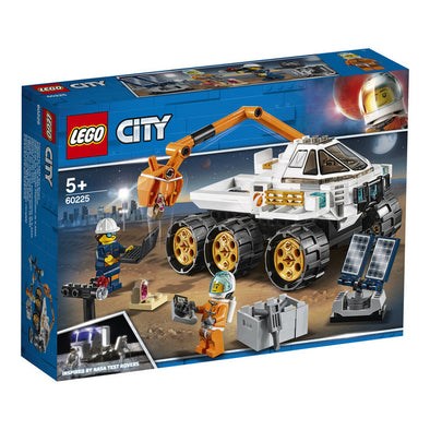 Lego City Space Port 60225 Prueba De Conduccion Del Rover