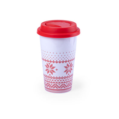 "Vaso ""Take away"" Navideño"