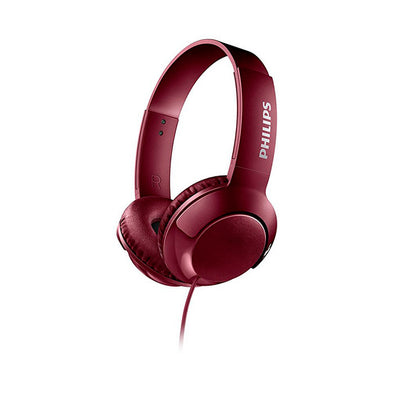Auriculares Bass Philips Rojo