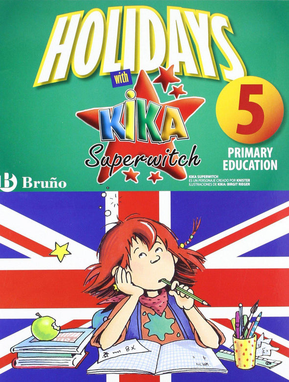 Imagen libro Holidays With Kika Superwitch 4Th Primary - 9788421668092