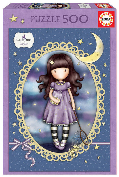 Puzzle Educa 500 Piezas Catch A Falling Star Gorjuss