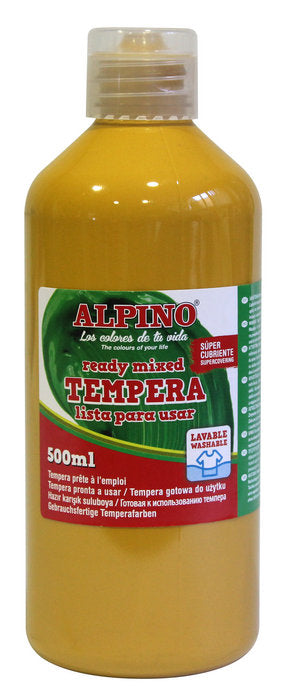 Tempera Liquida Alpino 500Ml Ocre