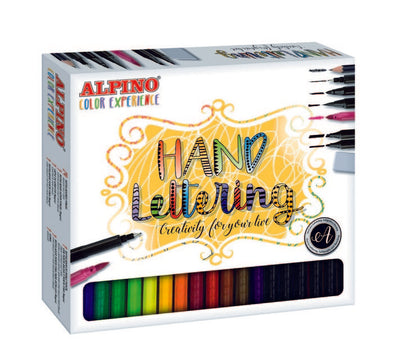 Set Rotuladores Alpino Color Experience Lettering.