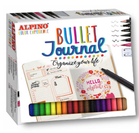 Set Rotuladores Alpino Color Experience Bullet Journal Kit.