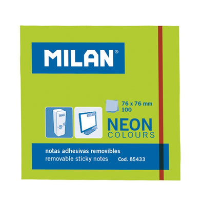 Post-it adhesivos NEON Verde