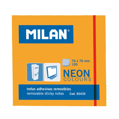 Post-it adhesivos NEON Naranja