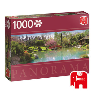 Puzzle Panorama Colourful Garden 1000 Pcs