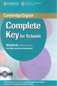 Complete Key For Schools Wb+Cd 12 Without Answers Camin0Sd9780521124362