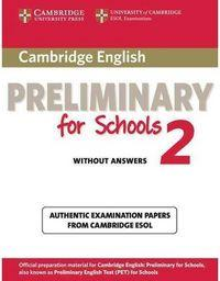 Eng.Preliminary Schools 2.W/Out. - 9781107603097