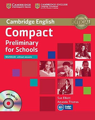 Compact Preliminary For Schools Workbook - 9781107635395