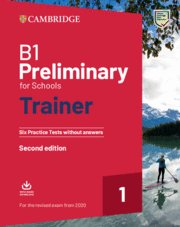 B1 Preliminary For Schools Trainer 1 - 9781108528870