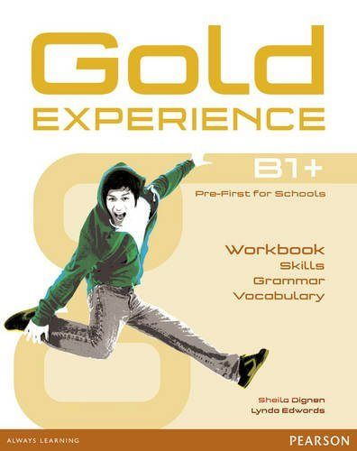 Gold Experience B1+Workb.Languag - 9781292159485