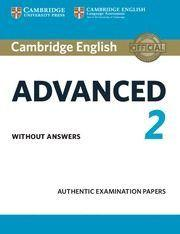 English Advanced 2 Stud.W/O Anse - 9781316504475
