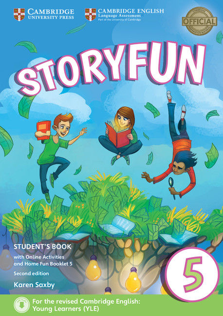 Storyfun 5, Students+Online Act 9781316617243