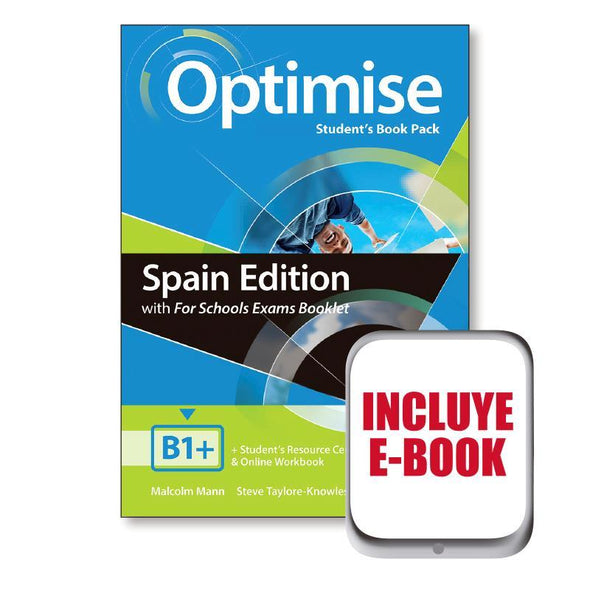 Optimise B1+ Student Book  - 9781380015952