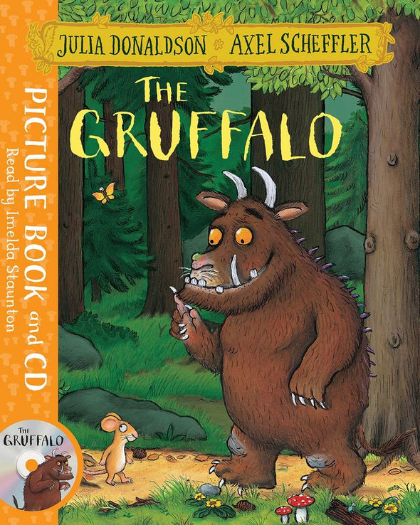 Gruffalo Book And Cd Pack - 9781509815128
