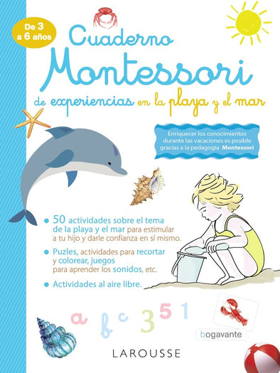 Libro Montessori Experiencias Playacon ISBN 9788418100338
