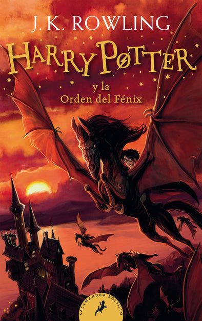 Harry Potter y la orden del fénix - 9788418173141