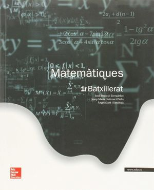 La - Matimatiques 1 Bat - 9788448196042