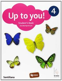 Up To You 4 Student'S Book + Cd - 9788466804042