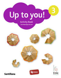 Up To You 3 Activity Book - 9788466808569