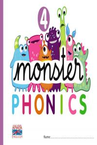 Monster Phonics 4,Ingles Ei.Anay- 9788467832785