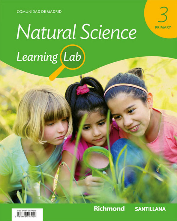 Learning Lab Natural Science Madrid 3 - 9788468047096