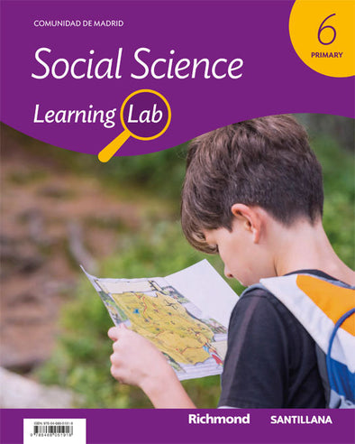 Learning Lab Soc Sci 6 Ep - 9788468051918