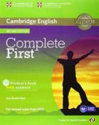 Complete First - Student'S Pack  - 9788483238332