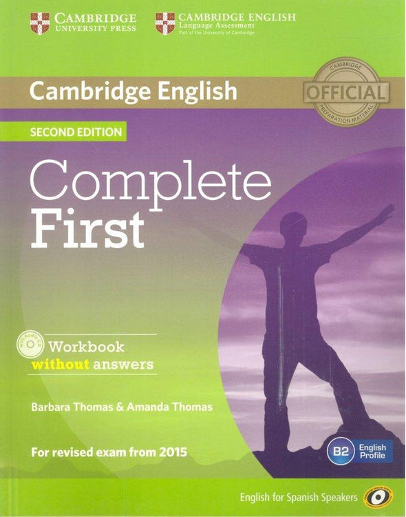 Complete First For Spanish Speakers Workbook Without Answers. - 9788483238172