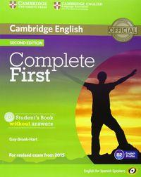 Complete Fce For Schools International Wb9781107671799