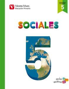 Cc.Sociales 5 Ep.Madrid.Aula Act - 9788468227580