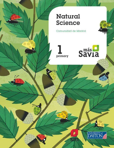 1º Ep Natural Science (Madrid) Más Savia 18 - 9788417061784