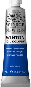 Óleo 37 ml Winton ultramar francés