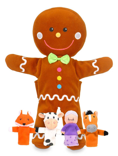 Set de marionetas Gingerbread Man