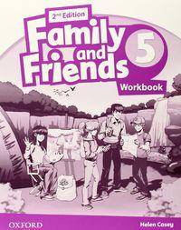 Libro FAMILY & FRIENDS 5 AB 2ED - 9780194811552