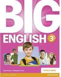 Big English 3 Ep. Pupils Book Pearson - 9781447951285