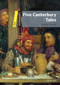 Domin 1 Five Canterbury Tales  Mp3 Pk - 9780194639361 (9780194247580)