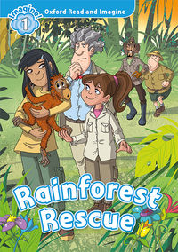 Oxford 1 - Rainforest Rescue Mp3 Pack - 9780194017435