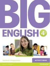 Big English 4 Ep. Activity Pearson - 9781447950790