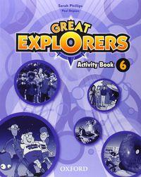 Great Explorers 6 Ab - 9780194507981