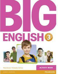 Big English 3 Ep. Activity Book Pearson - 9781447950707