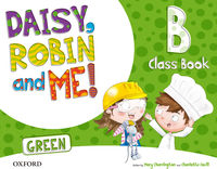 4 YEARS - DAISY ROBIN & ME A GREEN (PACK) - 9780194806435