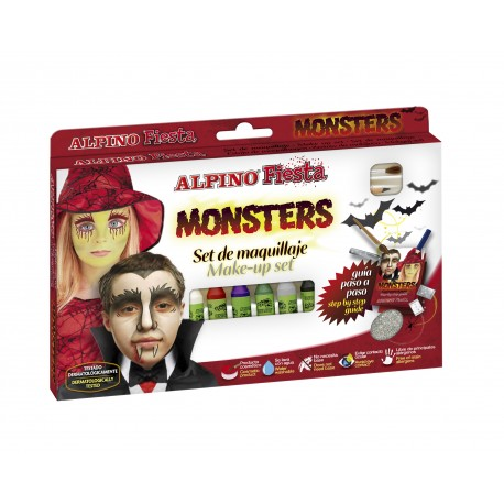 Set de maquillaje para pintar cara (6 ceras) MONSTERS