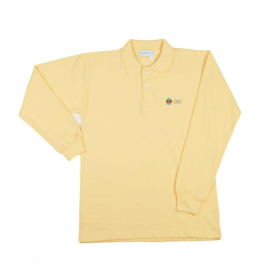 Polo Amarillo Manga Larga CEU de Uniforme escolar
